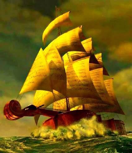 bateau musique